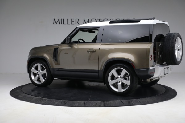 Used 2021 Land Rover Defender 90 First Edition for sale Sold at Aston Martin of Greenwich in Greenwich CT 06830 4