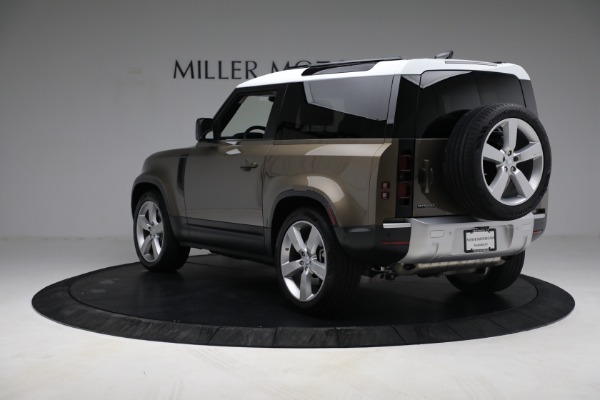 Used 2021 Land Rover Defender 90 First Edition for sale Sold at Aston Martin of Greenwich in Greenwich CT 06830 5