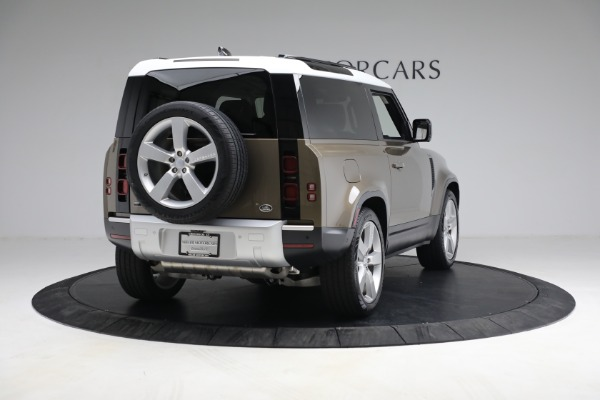Used 2021 Land Rover Defender 90 First Edition for sale Sold at Aston Martin of Greenwich in Greenwich CT 06830 7