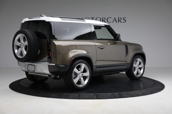 Used 2021 Land Rover Defender 90 First Edition for sale Sold at Aston Martin of Greenwich in Greenwich CT 06830 8