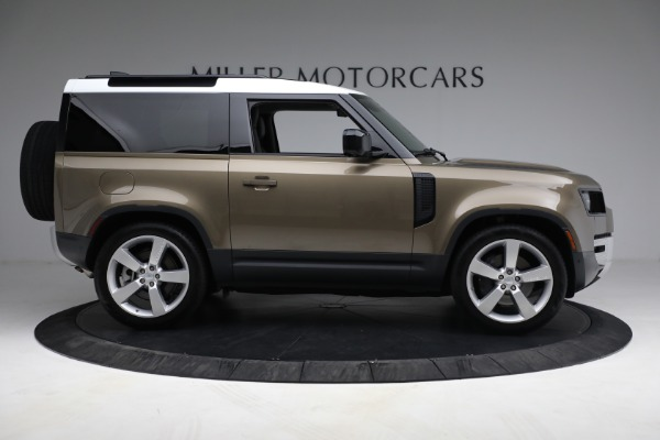 Used 2021 Land Rover Defender 90 First Edition for sale Sold at Aston Martin of Greenwich in Greenwich CT 06830 9