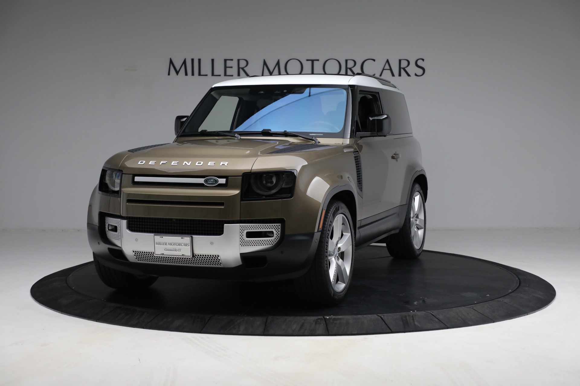 Used 2021 Land Rover Defender 90 First Edition for sale Sold at Aston Martin of Greenwich in Greenwich CT 06830 1