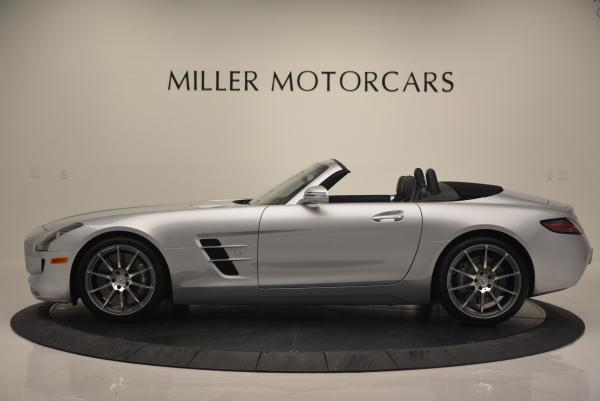 Used 2012 Mercedes Benz SLS AMG for sale Sold at Aston Martin of Greenwich in Greenwich CT 06830 3