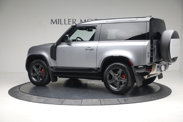 Used 2021 Land Rover Defender 90 X for sale Call for price at Aston Martin of Greenwich in Greenwich CT 06830 4