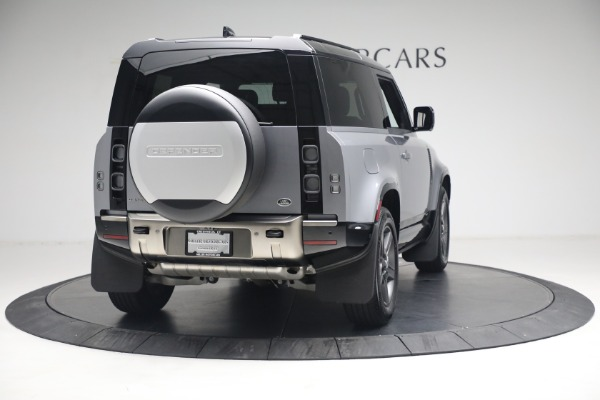 Used 2021 Land Rover Defender 90 X for sale Call for price at Aston Martin of Greenwich in Greenwich CT 06830 5