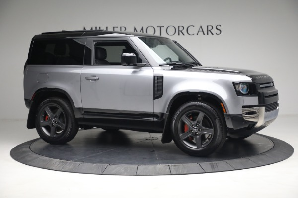 Used 2021 Land Rover Defender 90 X for sale Call for price at Aston Martin of Greenwich in Greenwich CT 06830 7