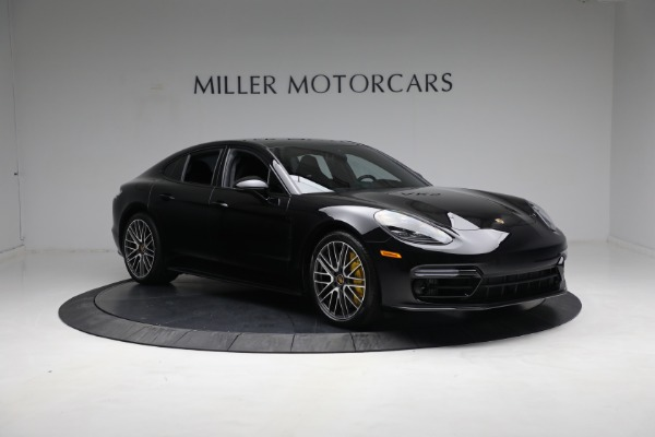 Used 2021 Porsche Panamera Turbo S for sale Call for price at Aston Martin of Greenwich in Greenwich CT 06830 10