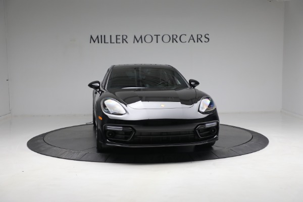 Used 2021 Porsche Panamera Turbo S for sale Call for price at Aston Martin of Greenwich in Greenwich CT 06830 11