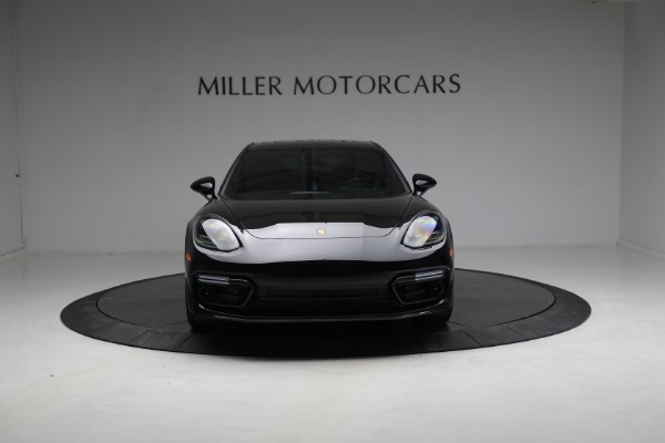Used 2021 Porsche Panamera Turbo S for sale Call for price at Aston Martin of Greenwich in Greenwich CT 06830 12