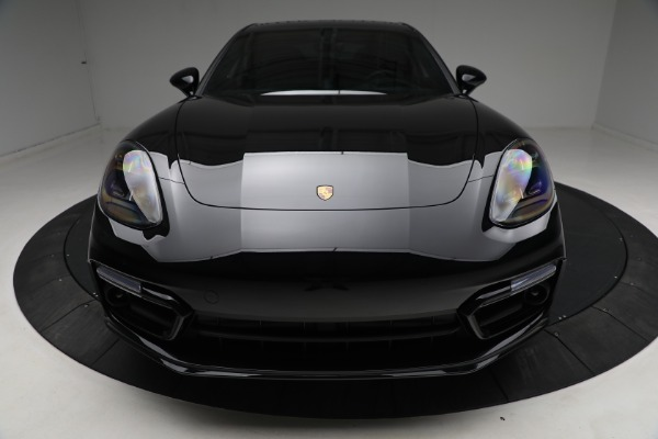 Used 2021 Porsche Panamera Turbo S for sale Call for price at Aston Martin of Greenwich in Greenwich CT 06830 13