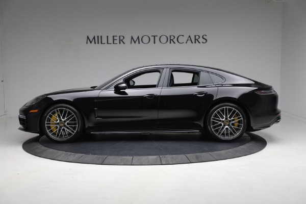 Used 2021 Porsche Panamera Turbo S for sale Call for price at Aston Martin of Greenwich in Greenwich CT 06830 2