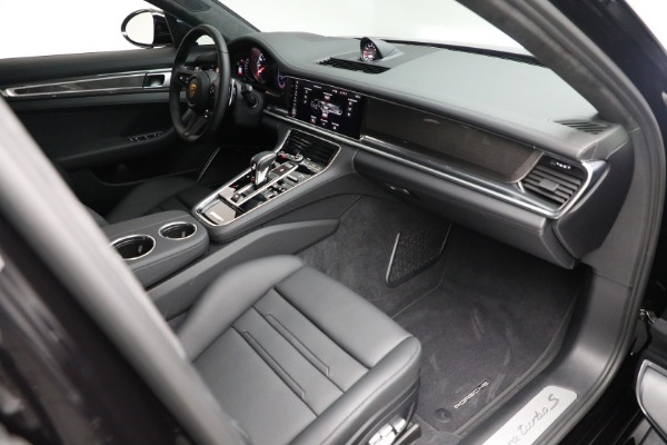 Used 2021 Porsche Panamera Turbo S for sale Call for price at Aston Martin of Greenwich in Greenwich CT 06830 26