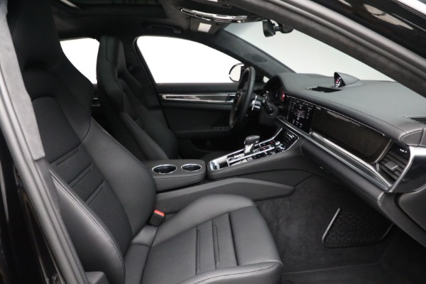 Used 2021 Porsche Panamera Turbo S for sale Call for price at Aston Martin of Greenwich in Greenwich CT 06830 27