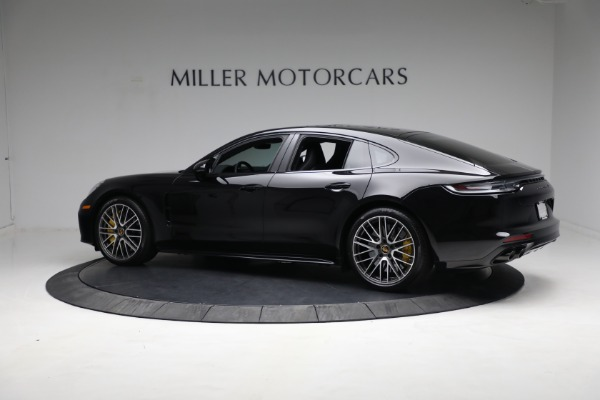 Used 2021 Porsche Panamera Turbo S for sale Call for price at Aston Martin of Greenwich in Greenwich CT 06830 3