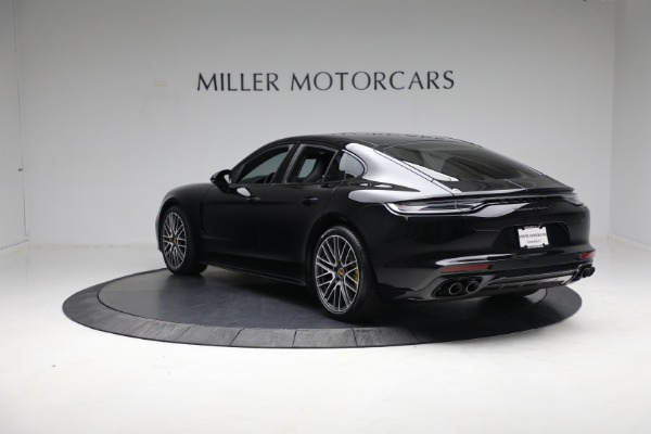 Used 2021 Porsche Panamera Turbo S for sale Call for price at Aston Martin of Greenwich in Greenwich CT 06830 4