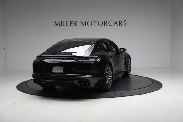 Used 2021 Porsche Panamera Turbo S for sale Call for price at Aston Martin of Greenwich in Greenwich CT 06830 6
