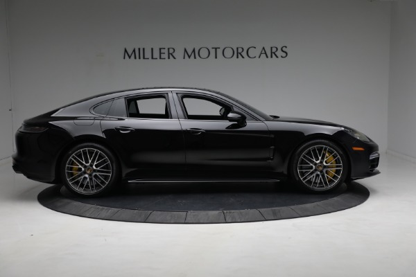 Used 2021 Porsche Panamera Turbo S for sale Call for price at Aston Martin of Greenwich in Greenwich CT 06830 8