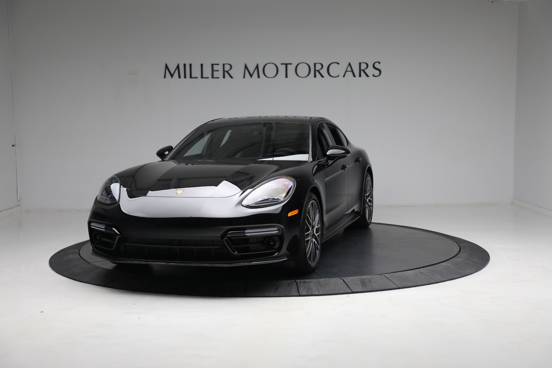 Used 2021 Porsche Panamera Turbo S for sale Call for price at Aston Martin of Greenwich in Greenwich CT 06830 1