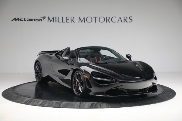 New 2021 McLaren 720S Spider for sale $374,120 at Aston Martin of Greenwich in Greenwich CT 06830 11