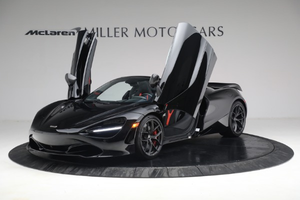 New 2021 McLaren 720S Spider for sale $374,120 at Aston Martin of Greenwich in Greenwich CT 06830 14