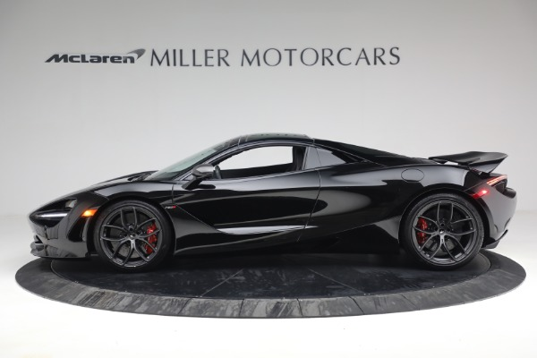 New 2021 McLaren 720S Spider for sale $374,120 at Aston Martin of Greenwich in Greenwich CT 06830 16