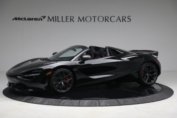 New 2021 McLaren 720S Spider for sale $374,120 at Aston Martin of Greenwich in Greenwich CT 06830 2