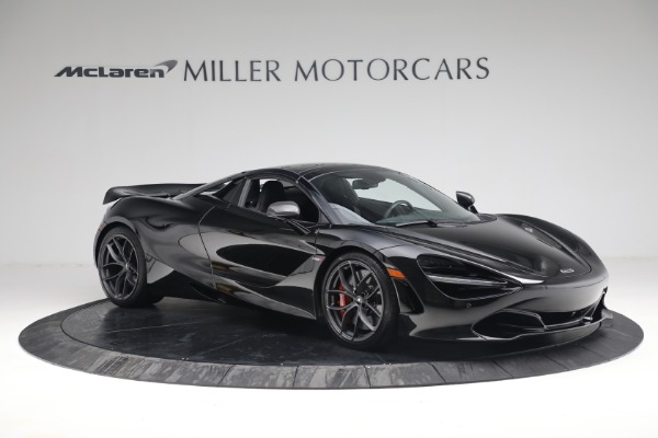 New 2021 McLaren 720S Spider for sale $374,120 at Aston Martin of Greenwich in Greenwich CT 06830 21