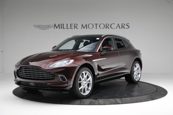 New 2021 Aston Martin DBX for sale $196,386 at Aston Martin of Greenwich in Greenwich CT 06830 1