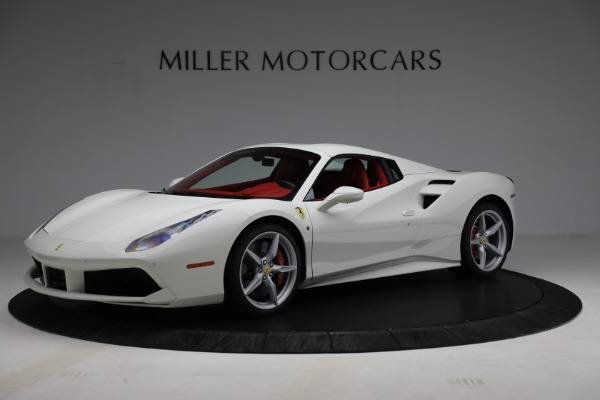 Used 2017 Ferrari 488 Spider for sale Call for price at Aston Martin of Greenwich in Greenwich CT 06830 14