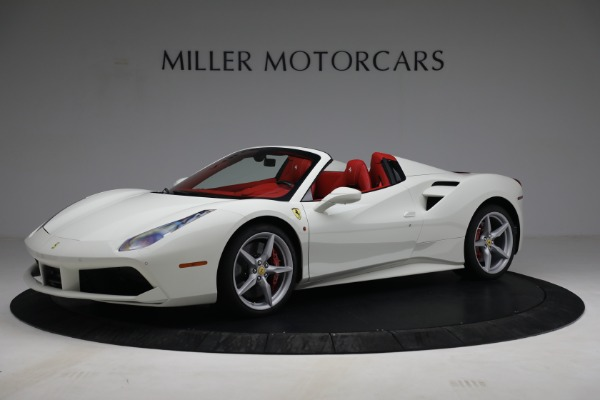 Used 2017 Ferrari 488 Spider for sale Call for price at Aston Martin of Greenwich in Greenwich CT 06830 2