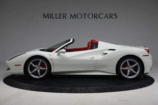 Used 2017 Ferrari 488 Spider for sale Call for price at Aston Martin of Greenwich in Greenwich CT 06830 3