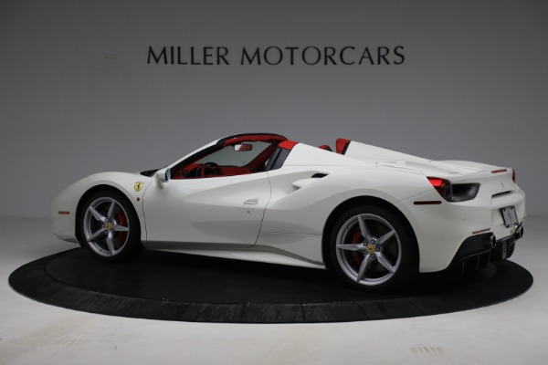 Used 2017 Ferrari 488 Spider for sale Call for price at Aston Martin of Greenwich in Greenwich CT 06830 4