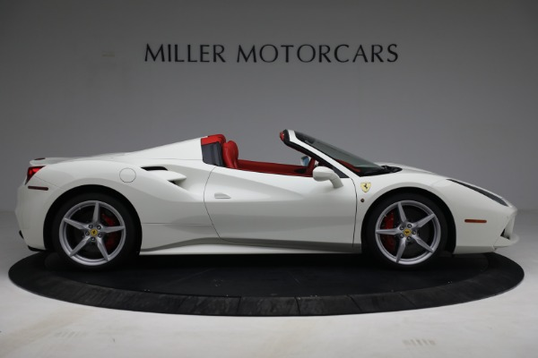 Used 2017 Ferrari 488 Spider for sale Call for price at Aston Martin of Greenwich in Greenwich CT 06830 9