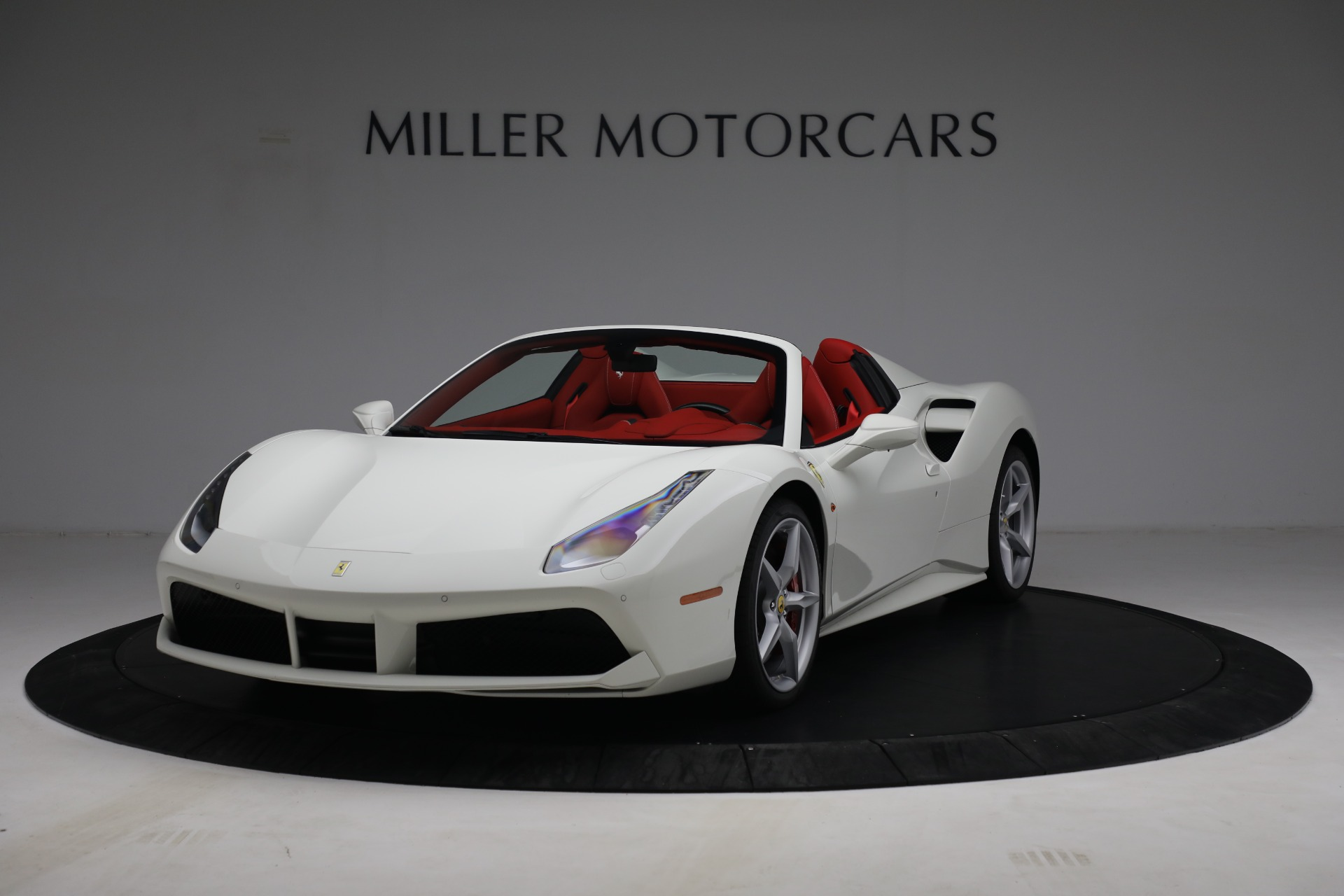 Used 2017 Ferrari 488 Spider for sale Call for price at Aston Martin of Greenwich in Greenwich CT 06830 1