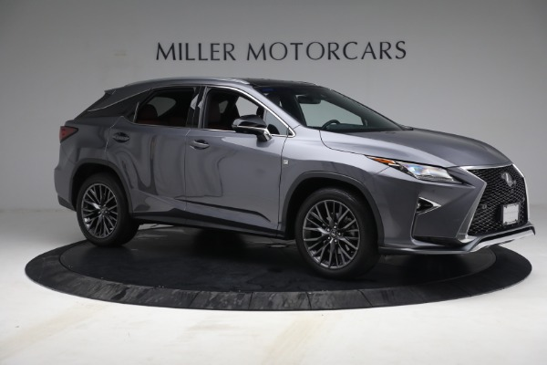 Used 2018 Lexus RX 350 F SPORT for sale $44,900 at Aston Martin of Greenwich in Greenwich CT 06830 10