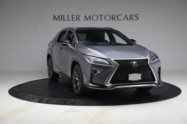Used 2018 Lexus RX 350 F SPORT for sale $44,900 at Aston Martin of Greenwich in Greenwich CT 06830 11
