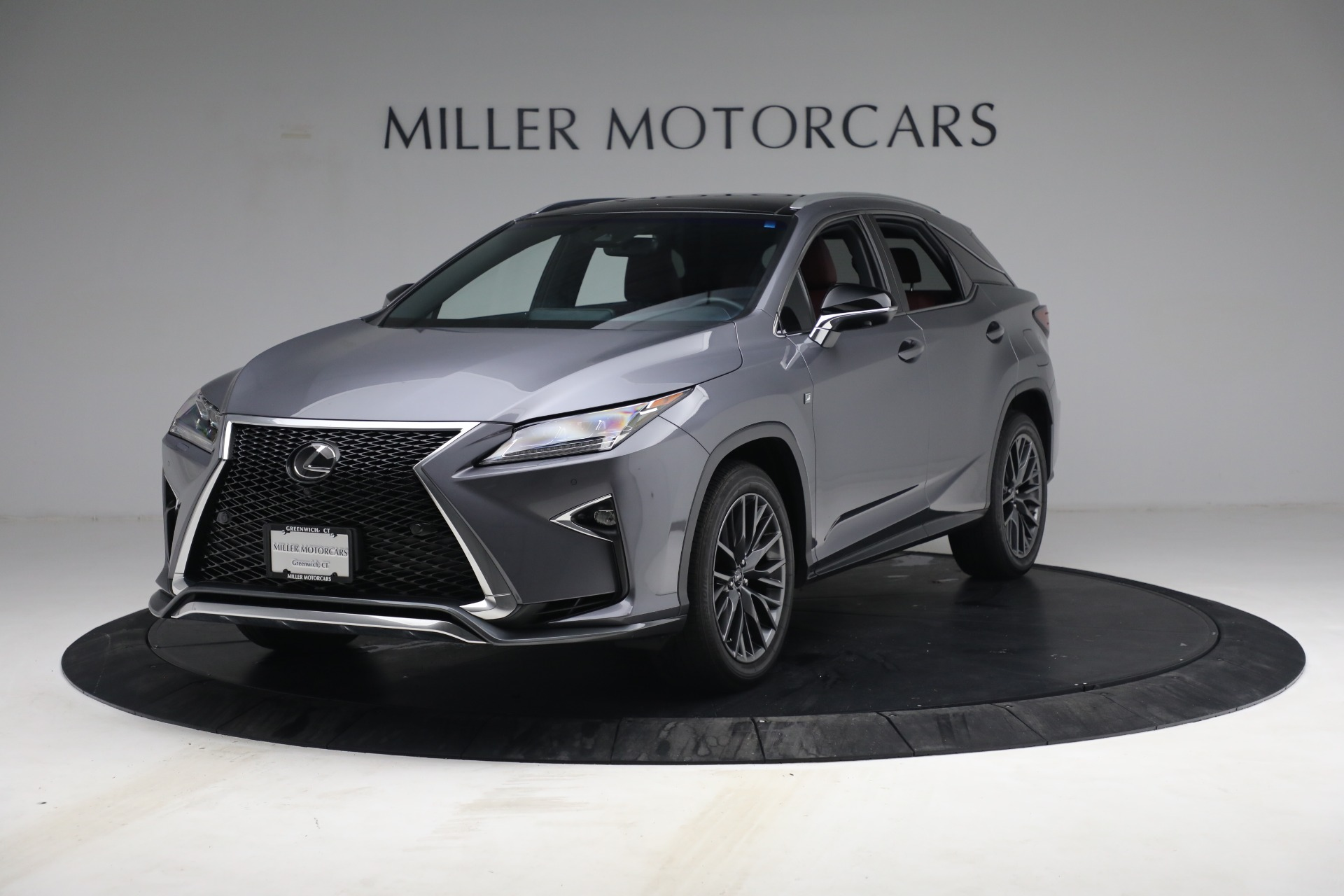 Used 2018 Lexus RX 350 F SPORT for sale $44,900 at Aston Martin of Greenwich in Greenwich CT 06830 1