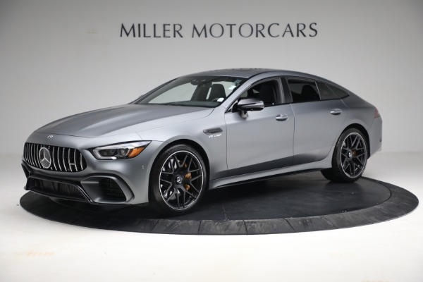 Used 2019 Mercedes-Benz AMG GT 63 for sale Call for price at Aston Martin of Greenwich in Greenwich CT 06830 2