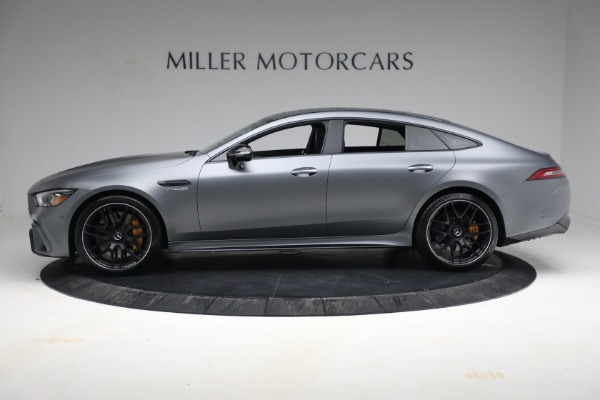 Used 2019 Mercedes-Benz AMG GT 63 for sale Call for price at Aston Martin of Greenwich in Greenwich CT 06830 3