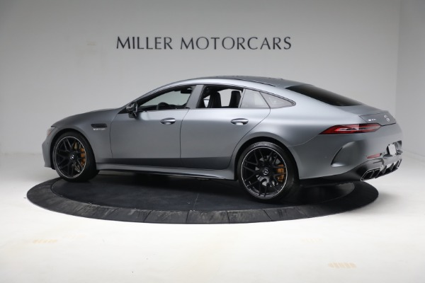 Used 2019 Mercedes-Benz AMG GT 63 for sale Call for price at Aston Martin of Greenwich in Greenwich CT 06830 4