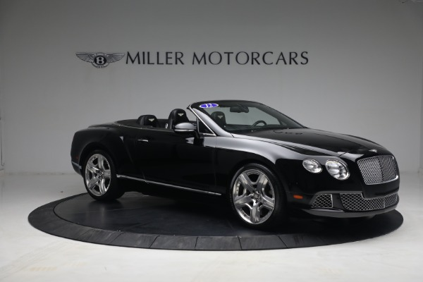 Used 2012 Bentley Continental GTC GT for sale $119,900 at Aston Martin of Greenwich in Greenwich CT 06830 10