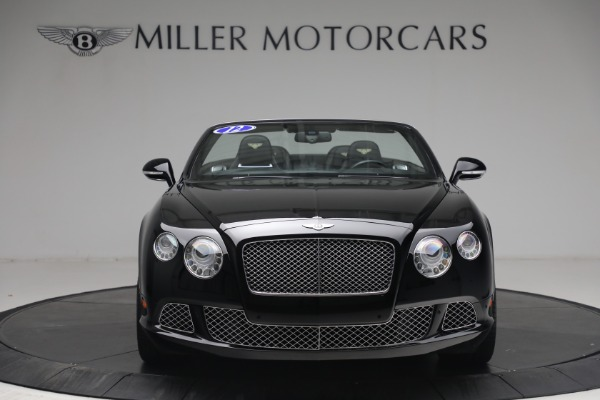 Used 2012 Bentley Continental GTC GT for sale $119,900 at Aston Martin of Greenwich in Greenwich CT 06830 11
