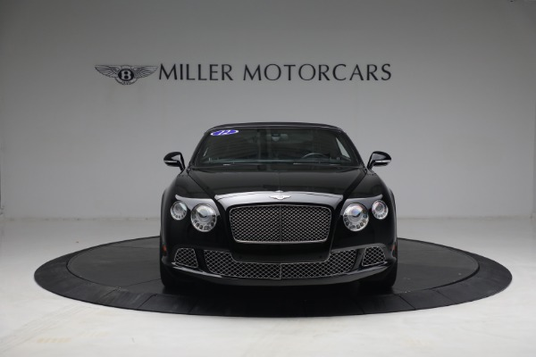 Used 2012 Bentley Continental GTC GT for sale $119,900 at Aston Martin of Greenwich in Greenwich CT 06830 21