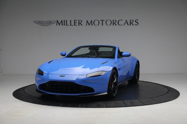 New 2021 Aston Martin Vantage Roadster for sale $186,386 at Aston Martin of Greenwich in Greenwich CT 06830 11