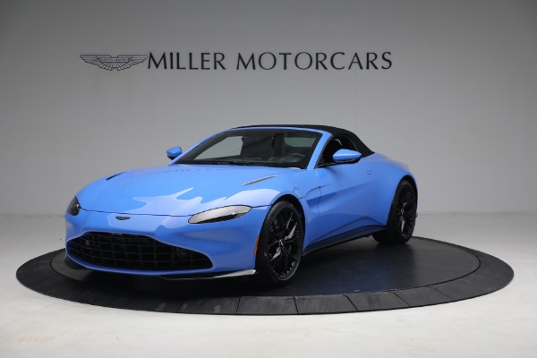 New 2021 Aston Martin Vantage Roadster for sale $186,386 at Aston Martin of Greenwich in Greenwich CT 06830 12