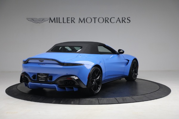 New 2021 Aston Martin Vantage Roadster for sale $186,386 at Aston Martin of Greenwich in Greenwich CT 06830 15