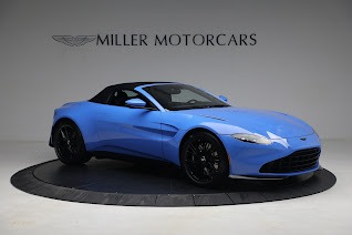 New 2021 Aston Martin Vantage Roadster for sale $186,386 at Aston Martin of Greenwich in Greenwich CT 06830 17