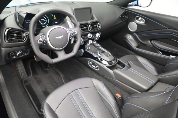 New 2021 Aston Martin Vantage Roadster for sale $186,386 at Aston Martin of Greenwich in Greenwich CT 06830 19