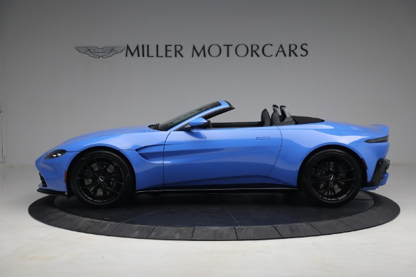 New 2021 Aston Martin Vantage Roadster for sale $186,386 at Aston Martin of Greenwich in Greenwich CT 06830 2