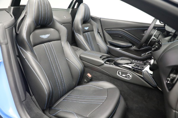 New 2021 Aston Martin Vantage Roadster for sale $186,386 at Aston Martin of Greenwich in Greenwich CT 06830 22